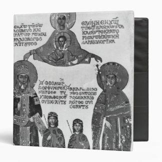 Manuel Palaeologus protected by Virgin Mary Binder