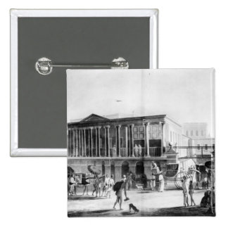 Manufactory and Bazaar, Calcutta House Pinback Button