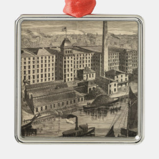 Manufactory of Clark's ONT Spool Cotton Christmas Tree Ornaments