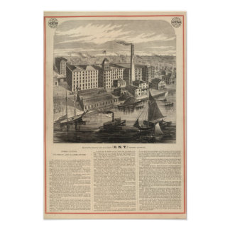 Manufactory of Clark's ONT Spool Cotton Print