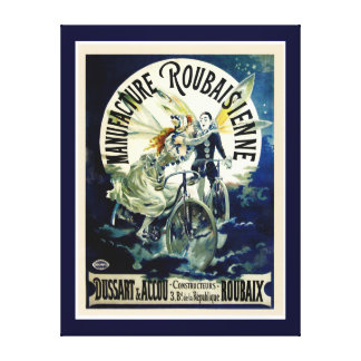 Manufacture Roubaisienne Bicycles Canvas Print