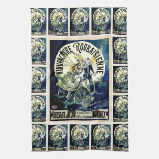 Manufacture Roubaisienne Bicycles Kitchen Towel