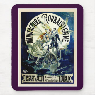 Manufacture Roubaisienne Bicycles Mouse Pad