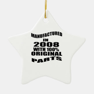 Manufactured  In 2008 With 100 % Original Parts Ceramic Ornament
