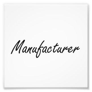 Manufacturer Artistic Job Design Photo Print