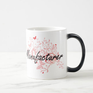 Manufacturer Artistic Job Design with Butterflies Magic Mug