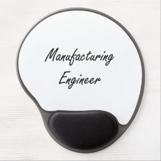 Manufacturing Engineer Artistic Job Design Gel Mouse Pad