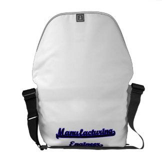 Manufacturing Engineer Classic Job Design Messenger Bags
