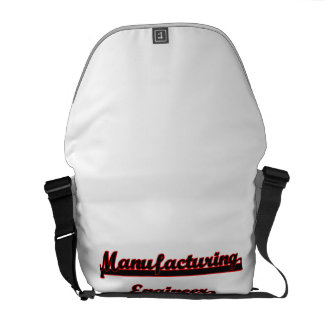 Manufacturing Engineer Classic Job Design Courier Bags