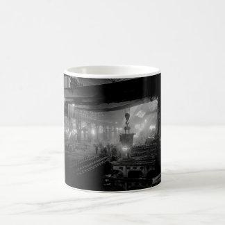 Manufacturing steel ingots for_War image Coffee Mug