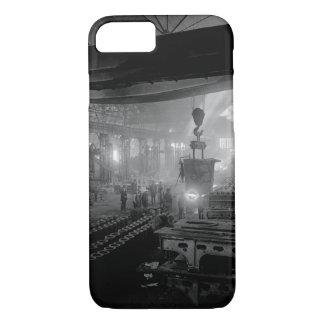 Manufacturing steel ingots for_War image iPhone 8/7 Case