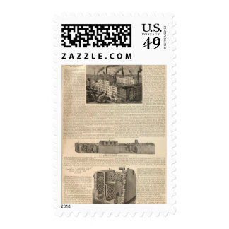 Manufacturing, Warehouses Stamp