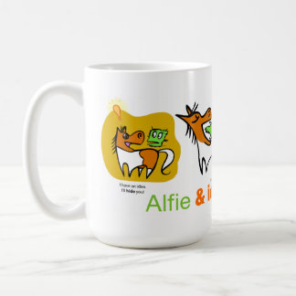 Manure Happen Cartoon Mini Horse Mug