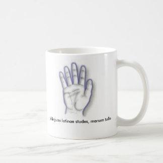manus (hand) - Customized Classic White Coffee Mug