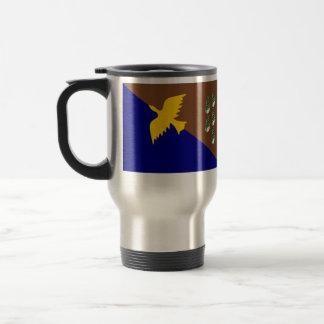 Manus, Panama flag Coffee Mugs