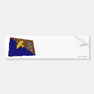 Manus Province Waving Flag Bumper Stickers