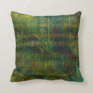Manuscript Abstract Throw Pillow