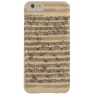 Manuscrito de la música de Albinoni Sinfonia Funda De iPhone 6 Plus Barely There