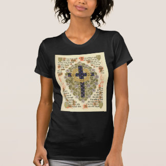 Manuscrito iluminado para la septuagésima y camisetas