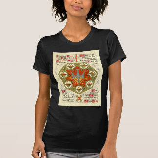 Manuscrito iluminado para Whitsuntide Camisetas