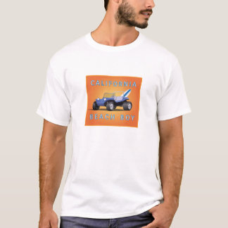 Manx Blue Surfboard T-Shirt