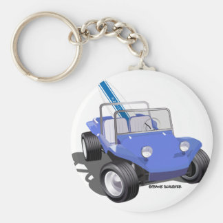 Manx Blue with Surfboard Keychain