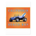 Manx Cal Beach Boy Postcards