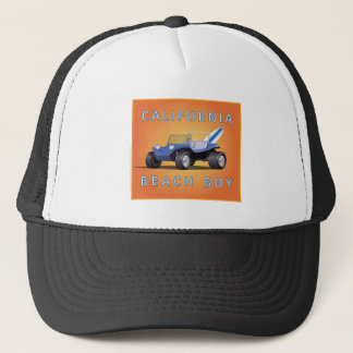 Manx California Beach Boy Trucker Hat