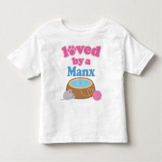 Manx Cat Breed Loved By A Gift Toddler T-shirt