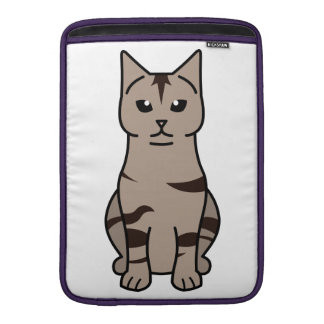 Manx Cat Cartoon Sleeve For MacBook Air