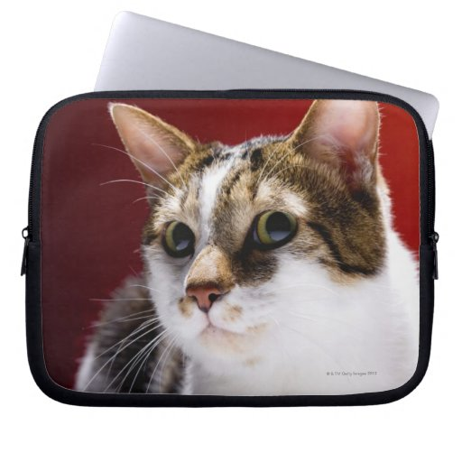 Manx cat laptop computer sleeves