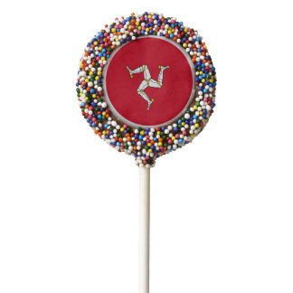 Manx Flag Party Oreo Cookie Pops