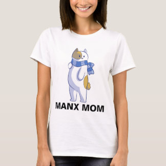 MANX MOM, CAT t-shirts, Bobtail T-Shirt