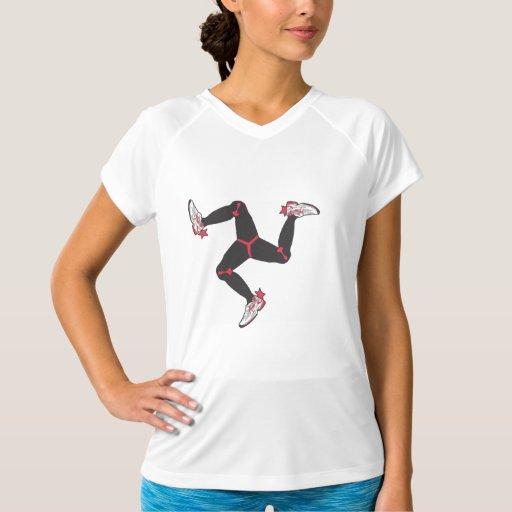 Manx Women's Sleeveless Runner Tshirt
