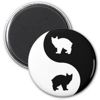 Manx Yin Yang Magnet