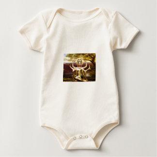 Many Armed Kwan Yin Baby Bodysuit