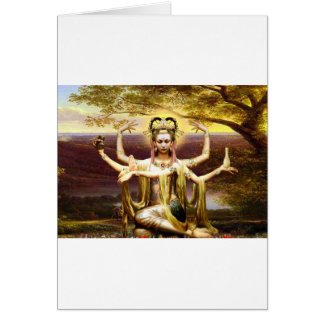 Many Armed Kwan Yin Card