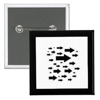 Many Arrow Icons Pins