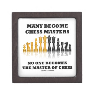 Many Become Chess Masters No One Becomes Master Premium Gift Boxes