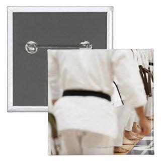 Many black belts button