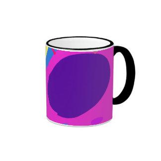 Many Blessing Modern Joyful Sense Variations 15 Ringer Coffee Mug