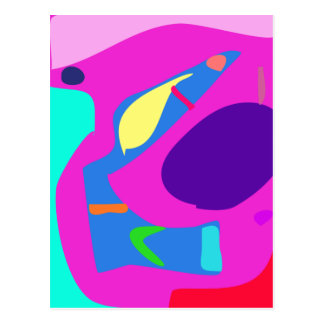 Many Blessing Modern Joyful Sense Variations 15 Postcard