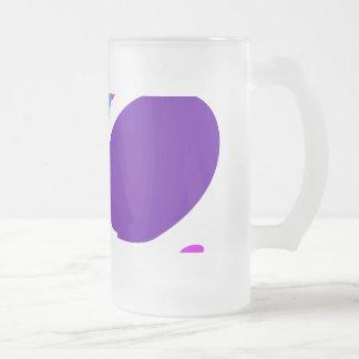 Many Blessing Modern Joyful Sense Variations 19 16 Oz Frosted Glass Beer Mug