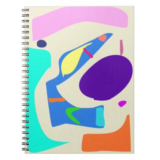 Many Blessing Modern Joyful Sense Variations 20 Spiral Notebook