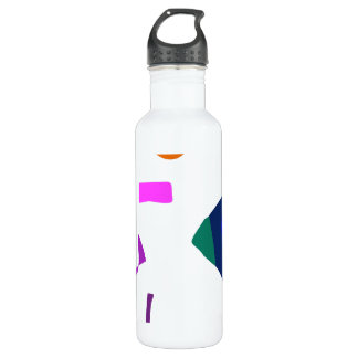 Many Blessing Modern Joyful Sense Variations 44 24oz Water Bottle