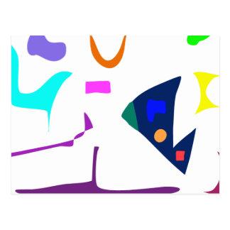 Many Blessing Modern Joyful Sense Variations 44 Postcard