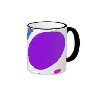 Many Blessing Modern Joyful Sense Variations 4 Ringer Coffee Mug