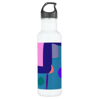 Many Blessing Modern Joyful Sense Variations 50 24oz Water Bottle