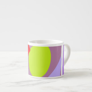 Many Blessing Modern Joyful Sense Variations 59 6 Oz Ceramic Espresso Cup