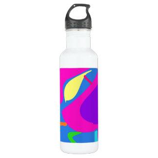 Many Blessing Modern Joyful Sense Variations 5 24oz Water Bottle